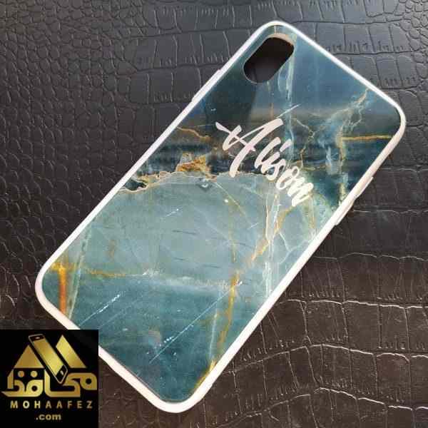 قاب طرح سنگ آلیسون آیفون Iphone X / Xs کد IP556