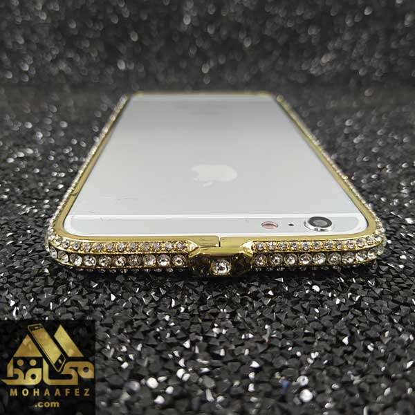 بامپر آیفون Iphone 6 Plus / 6s Plus نگین دار کد IP622F