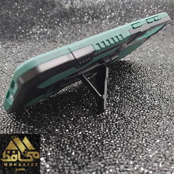 قاب ضد ضربه ی سامسونگ Galaxy S20 Plus هولدر دار کد SA377