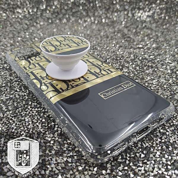 قاب پاپ سوکت دار سامسونگ Galaxy A21s طرح دیور Dior کد SA472A
