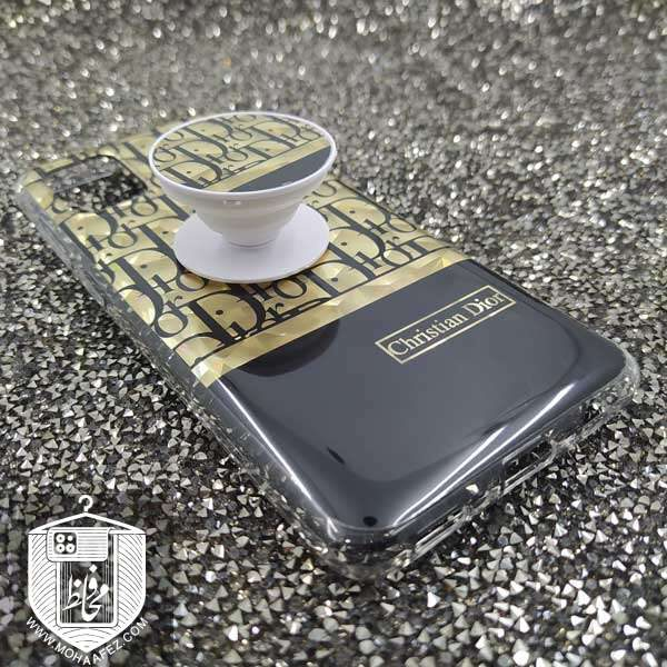 قاب پاپ سوکت دار سامسونگ Galaxy A31 طرح دیور Dior کد SA472A