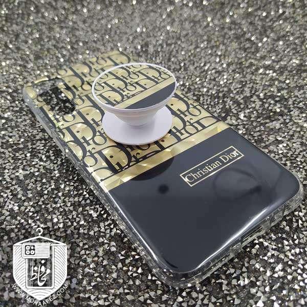 قاب پاپ سوکت دار شیائومی Redmi Note 8 طرح دیور Dior کد XM296A