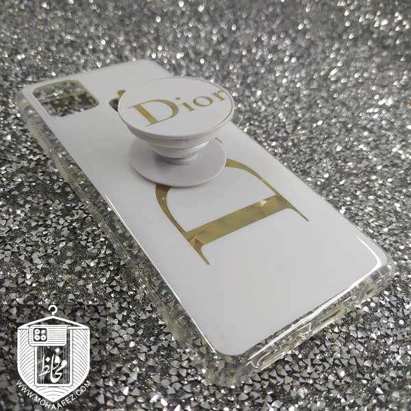 قاب پاپ سوکت دار سامسونگ Galaxy A21s طرح Dior کد SA496A