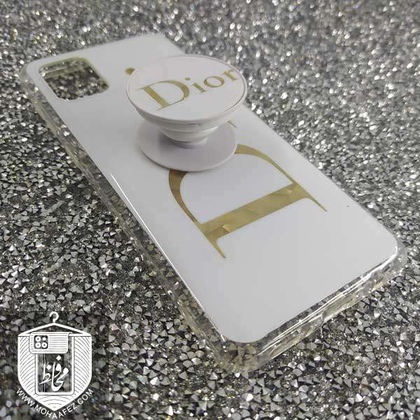 قاب پاپ سوکت دار سامسونگ Galaxy A31 طرح Dior کد SA496A