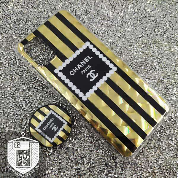 قاب پاپ سوکت دار سامسونگ Galaxy A31 طرح CHANEL کد SA496B