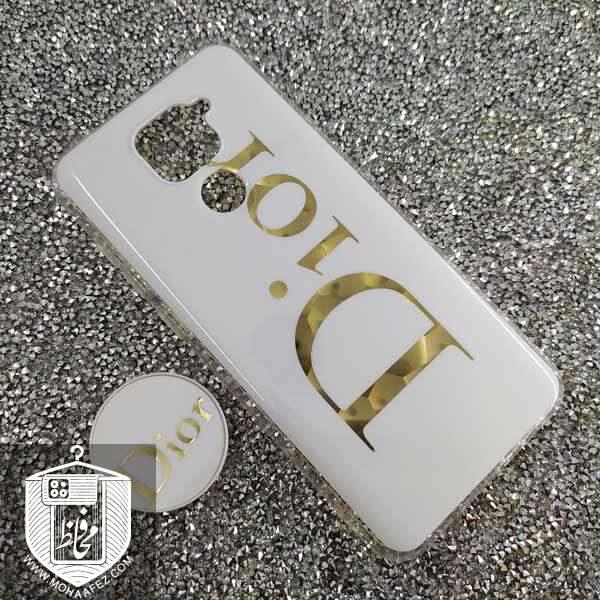 قاب پاپ سوکت دار شیائومی Redmi Note 9 طرح Dior کد XM315A