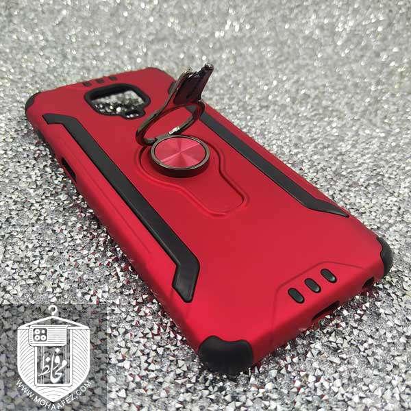 قاب ضد ضربه شیائومی Redmi Note 9s / Note 9 Pro / Note 9 Pro max همراه هولدر کولری کد SA498