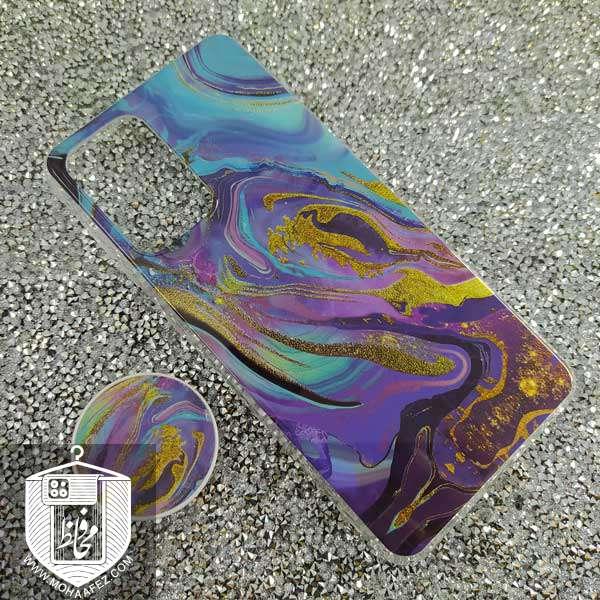 قاب پاپ سوکت دار سامسونگ Galaxy A52 کد SA500D