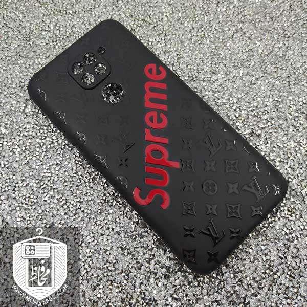 قاب ژله ای شیائومی Redmi Note 9 طرح Louis Vuitton کد XM323C