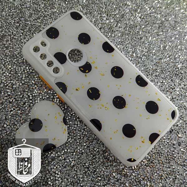 قاب پاپ سوکت دار شیائومی Redmi Note 8 Pro طرح قلب کد XM325D