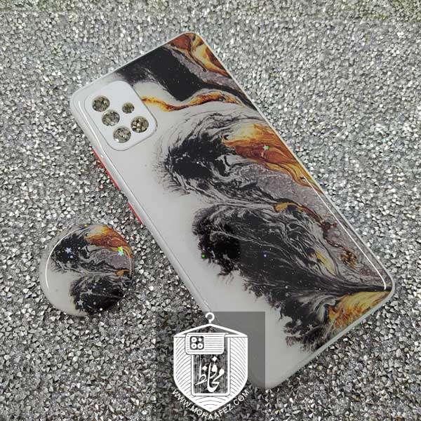 قاب آبرنگی سامسونگ Galaxy A71 پاپ سوکت دار کد SA480G