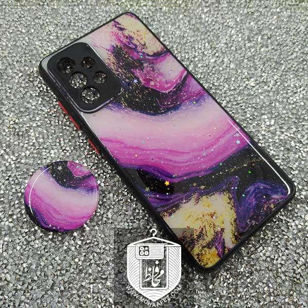 قاب آبرنگی سامسونگ Galaxy A72 پاپ سوکت دار کد SA480B