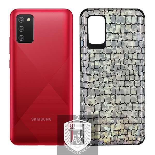 قاب هولوگرامی سامسونگ Galaxy A02s طرح پوست ماری کد SA455