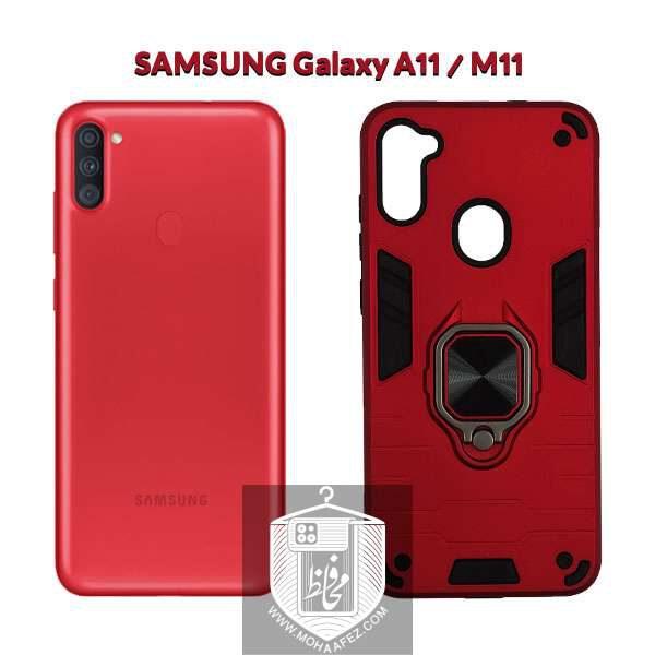 قاب ضد ضربه بتمن سامسونگ Galaxy A11 / M11 هولدر دار کد SA513
