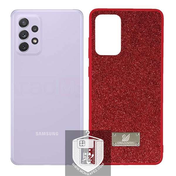 قاب اکلیلی سامسونگ Galaxy A72 طرح swarovski کد SA512