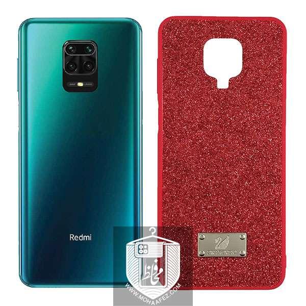قاب اکلیلی شیائومی Redmi Note 9s / Note 9 pro / Note 9 Pro Max طرح swarovski کد XM331