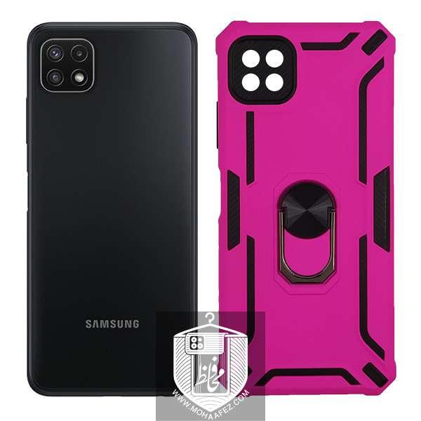 قاب ضد ضربه سامسونگ Galaxy A22 هولدر دار کد SA408