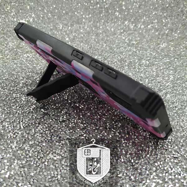 قاب ضد ضربه سامسونگ Galaxy A71 هولدر دار کد SA438G