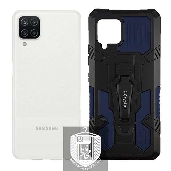 قاب ضد ضربه ی سامسونگ Galaxy A42 هولدر دار کد SA377