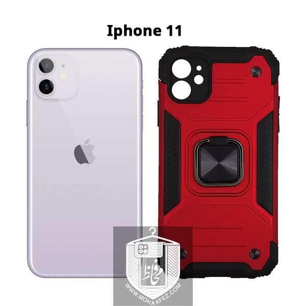 قاب ضد ضربه بتمن آیفون Iphone 11 هولدر دار کد IP719