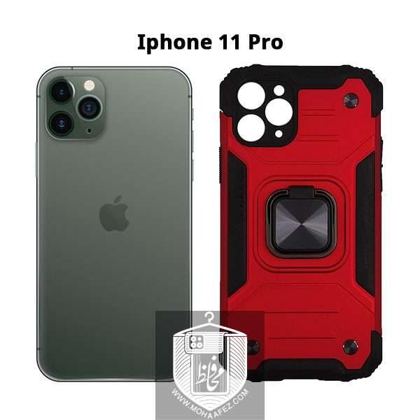 قاب ضد ضربه بتمن آیفون Iphone 11 Pro هولدر دار کد IP719