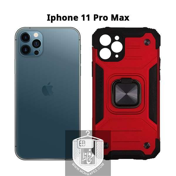 قاب ضد ضربه بتمن آیفون Iphone 11 Pro Max هولدر دار کد IP719