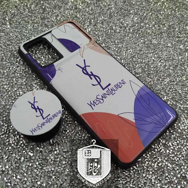 قاب پاپ سوکت دار سامسونگ Galaxy A71 طرح Yves Saint Laurent کد SA515F