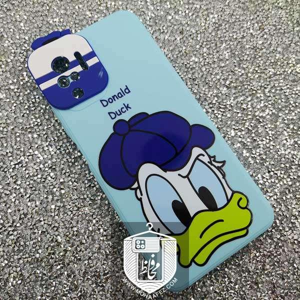قاب ژله ای شیائومی Redmi Note 10 / 10s طرح Donald Duck کد XM336B