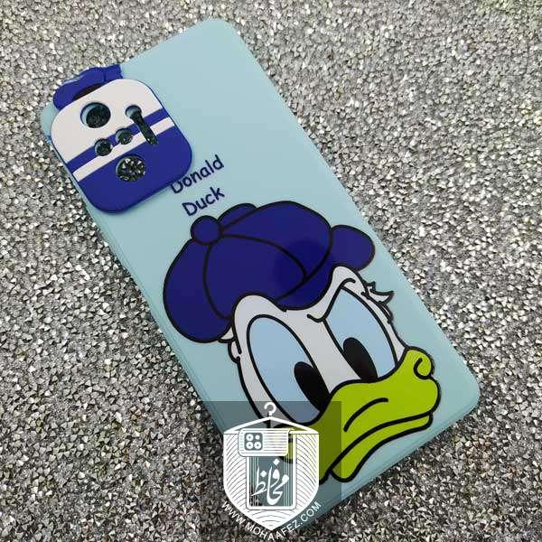 قاب ژله ای شیائومی Redmi Note 10 Pro طرح Donald Duck کد XM336B
