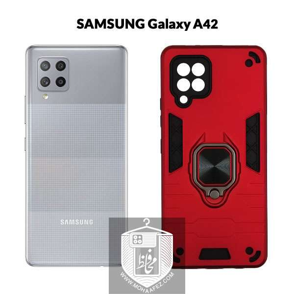قاب ضد ضربه بتمن سامسونگ Galaxy A42 هولدر دار کد SA513z