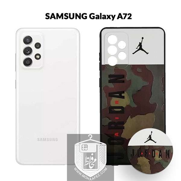 قاب چریکی سامسونگ Galaxy A72 به همراه پاپ سوکت کد SA521C